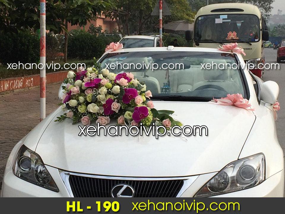 hoa xe cưới