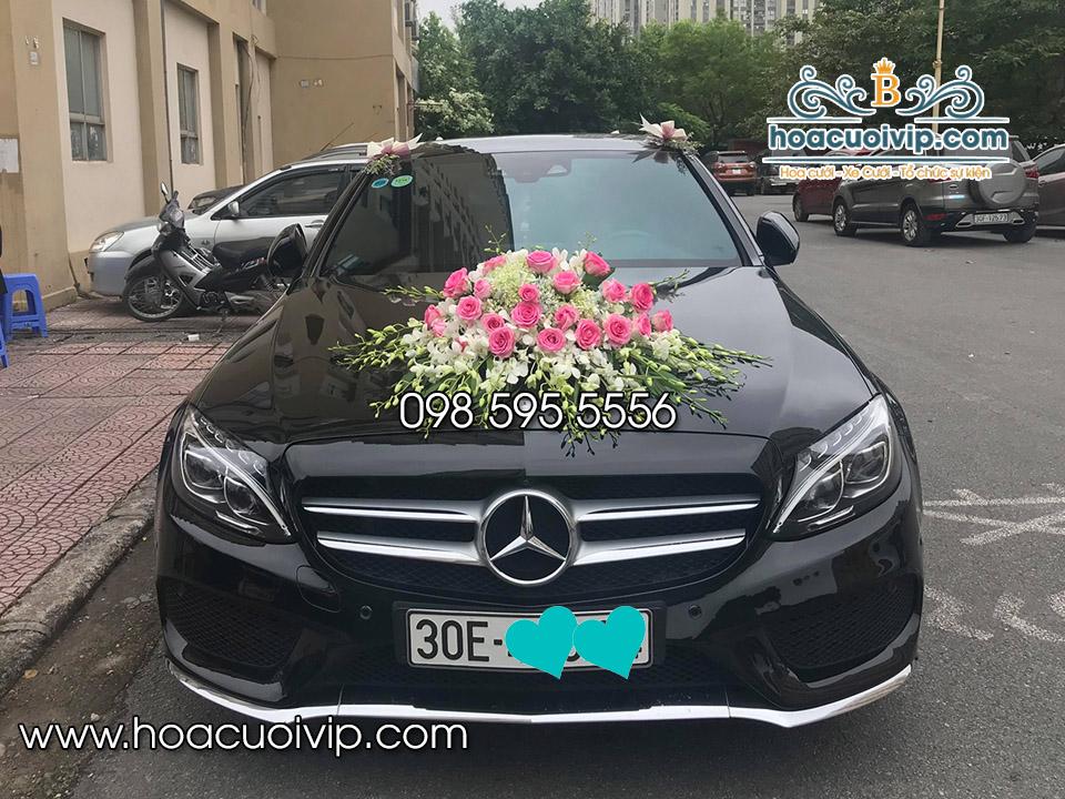 thuê xe cưới mercedes C300 2017 màu đen