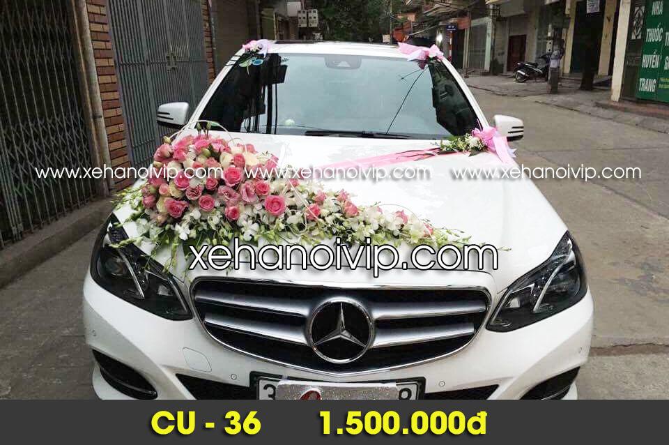 trang trí xe hoa đám cưới