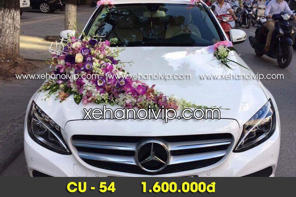 trang trí xe cô dâu