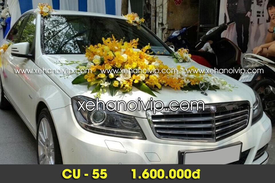 mẫu hoa xe cưới đẹp