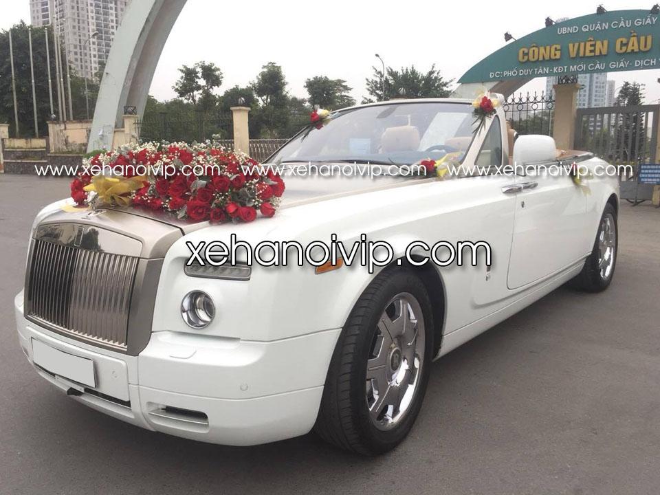 thuê xe cưới rolls royce phantom