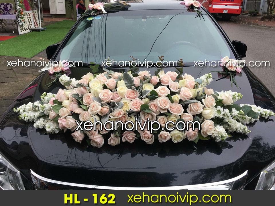 trang trí xe cưới đẹp