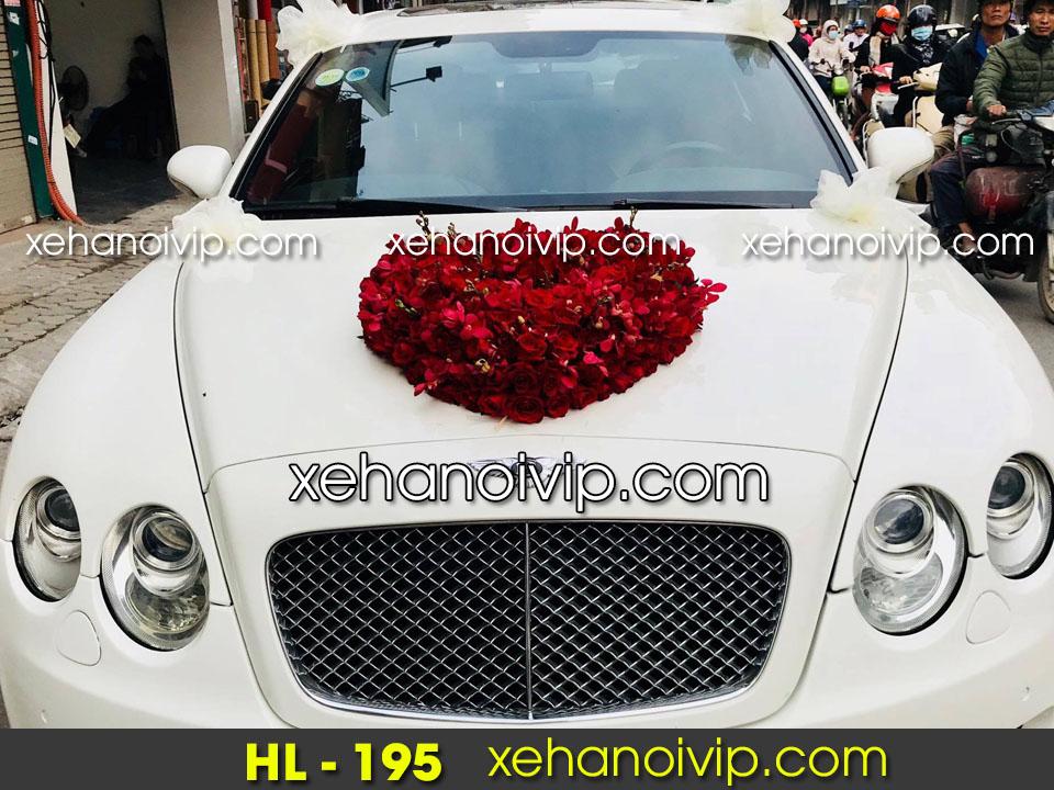 hoa xe cưới đẹp