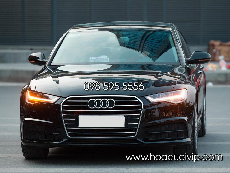 thuê xe cưới Audi A6 2017 màu đen