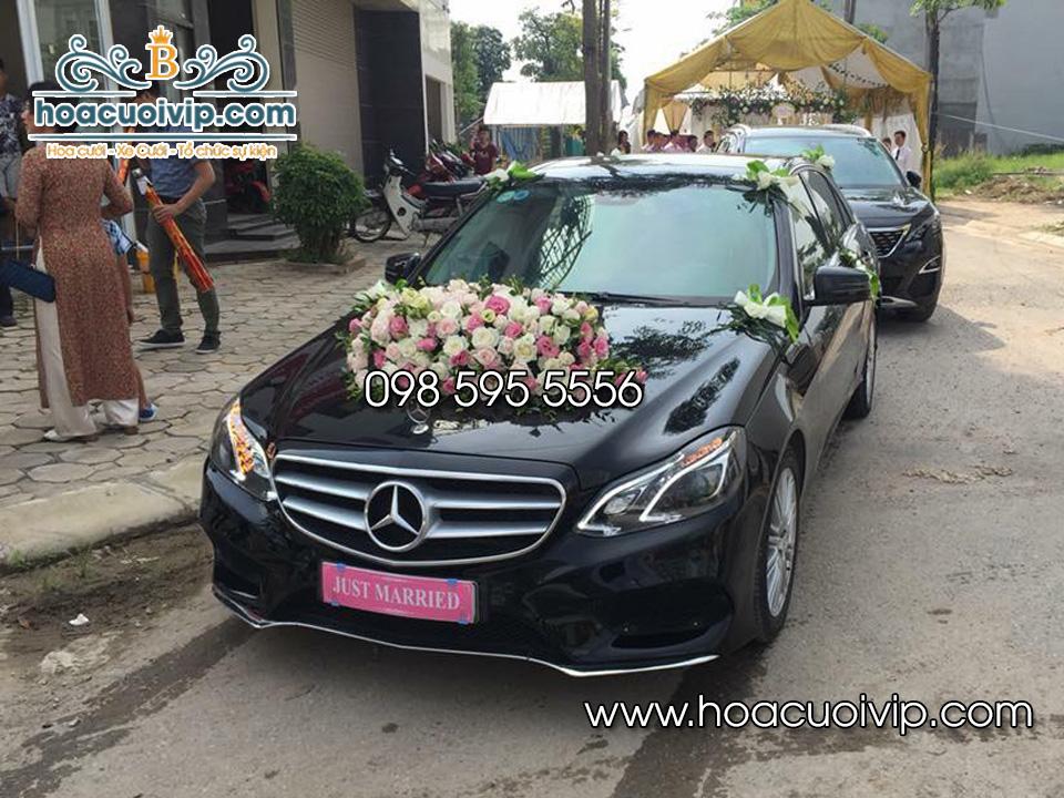 thuê xe cưới mercedes E250 2015 màu đen